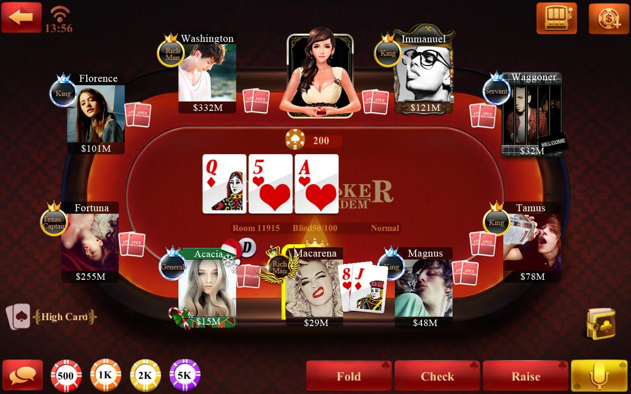 play for free texas holdem