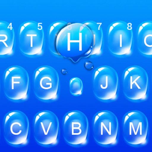 Water Drop Keyboard Theme
