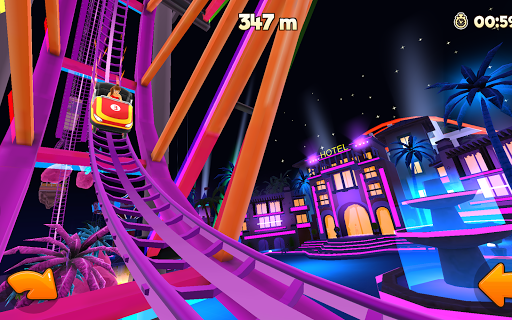 Thrill Rush Theme Park apkslow screenshots 9