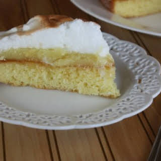 Lemon Meringue Cake.
