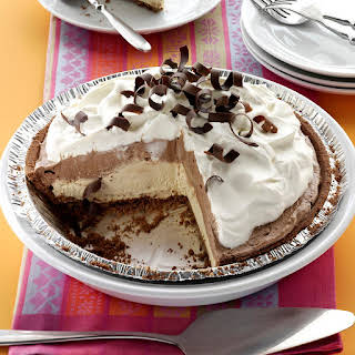 Mocha Java Pie with Kahlua Cream.