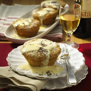 Apple and Poppy Seed Cakes.