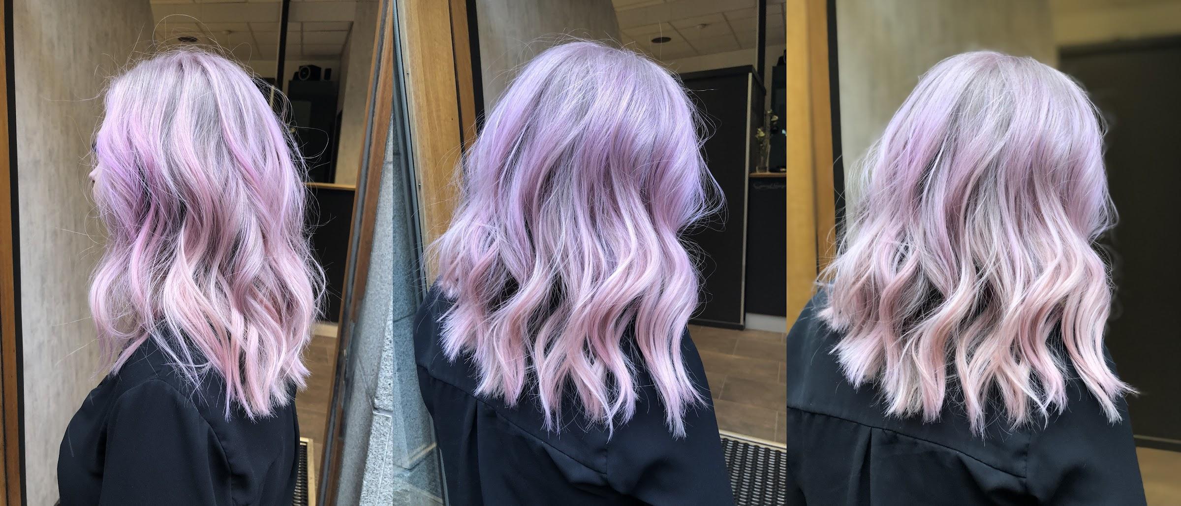 rosa hårfärg göteborg