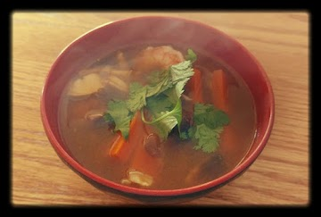 Tom Yum Shrimp Soup Recipe