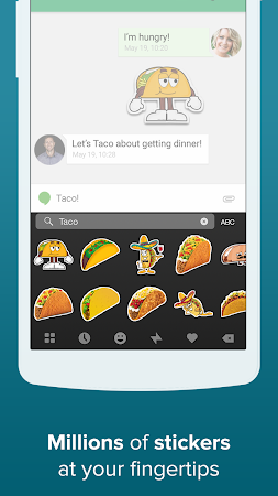 Fleksy + GIF Keyboard 6.2.2 screenshot 26014