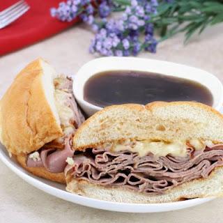Arby's Copycat Roast Beef Sandwich.
