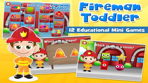 Fireman Toddler School Full