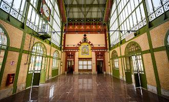 En imágenes: finalizan las obras en la estación