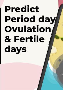 Period Tracker, Ovulation & Fertility app - Pad