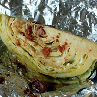 Roasted (Wish They Were Grilled) Cabbage.