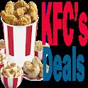Deals Specials & Games for KFC's Restaurants icon