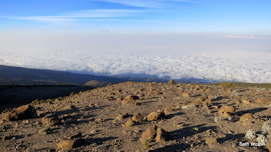 Photo: Skating on lava over clouds