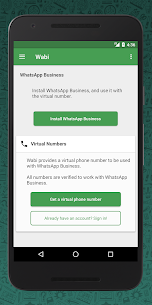 Wabi – Virtual Number for WhatsApp Business Download For Android and iPhone 6