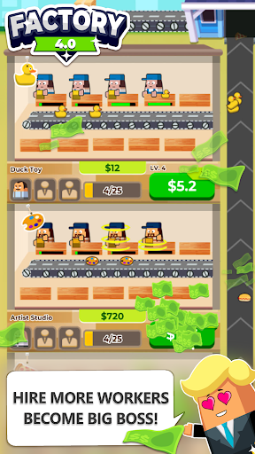 Free Download Factory 4 0 - The Idle Game Hack APK Mod
