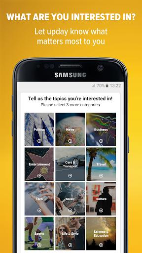 upday news for Samsung Screenshots 2