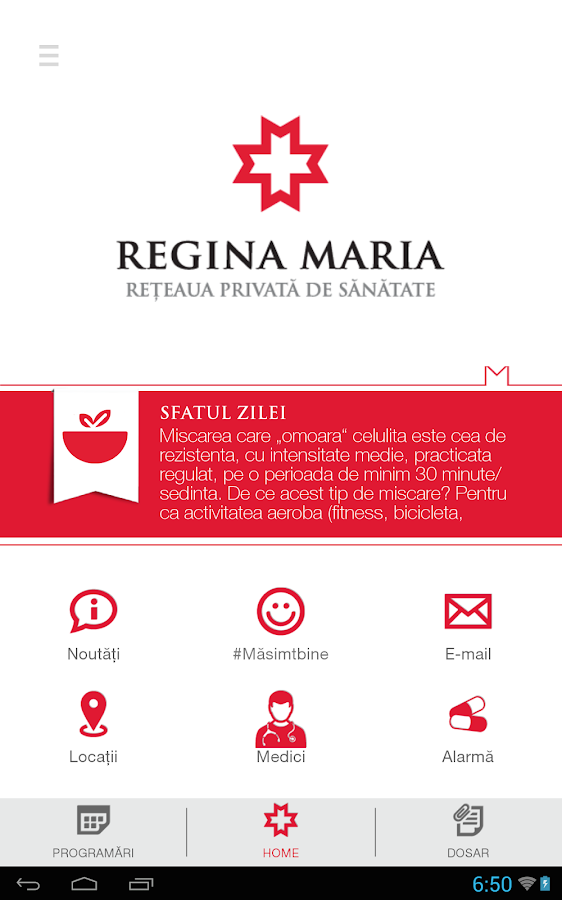 REGINA MARIA- screenshot