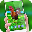 Rooster Escape Live Wallpaper : Birds Backgrounds icon