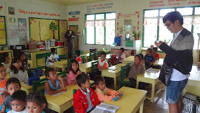 Photo: Psychosocial activities with the children