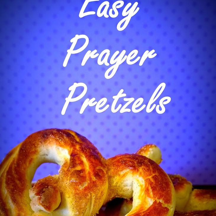 Easy Prayer Pretzels