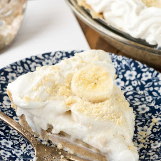 Old Fashioned Banana Pudding Pie