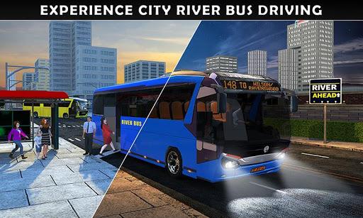 River Bus Driver Tourist Coach Bus Simulator  screenshots 2