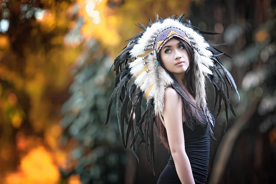 Apache by Baim Photoworks - People Portraits of Women ( navajo, great plains, comanche, don sioux ytiara, pueblo, huron, iroquois, apache, baim, cheyenne, cherokee, photoworks )