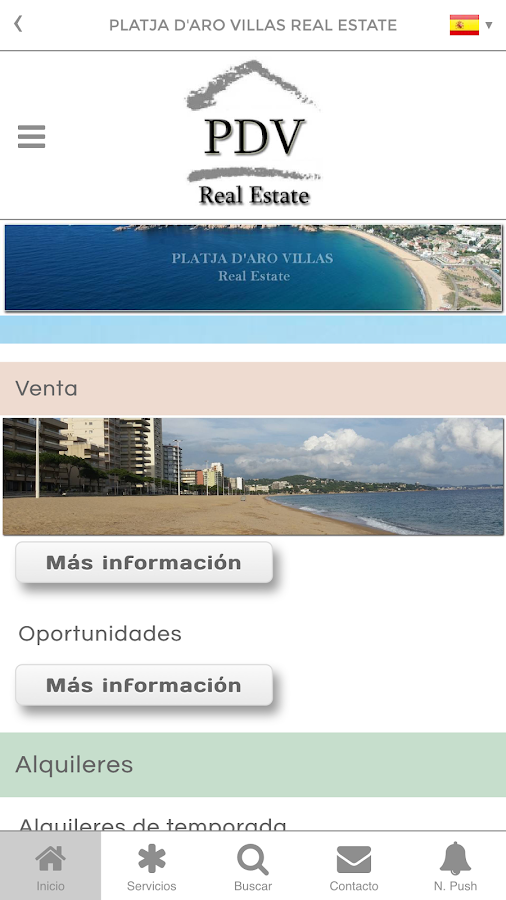 Platja d'Aro Villas- screenshot