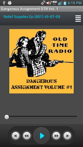 Dangerous Assignment OTR Vol 1