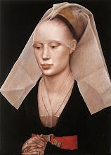 Photo: Portrait of a Lady. c. 1455