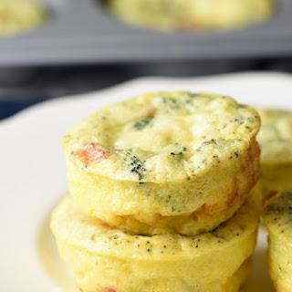 Muffin Tin Breakfast Frittatas.
