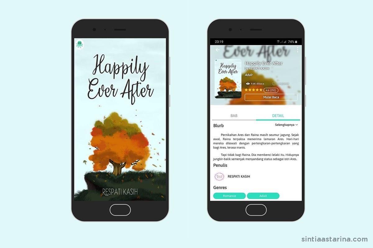 aplikasi cabaca - happily ever after karya respati kasih