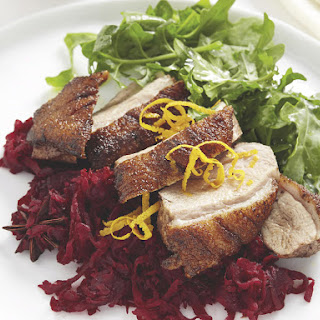 Roast Duck with Beet Relish