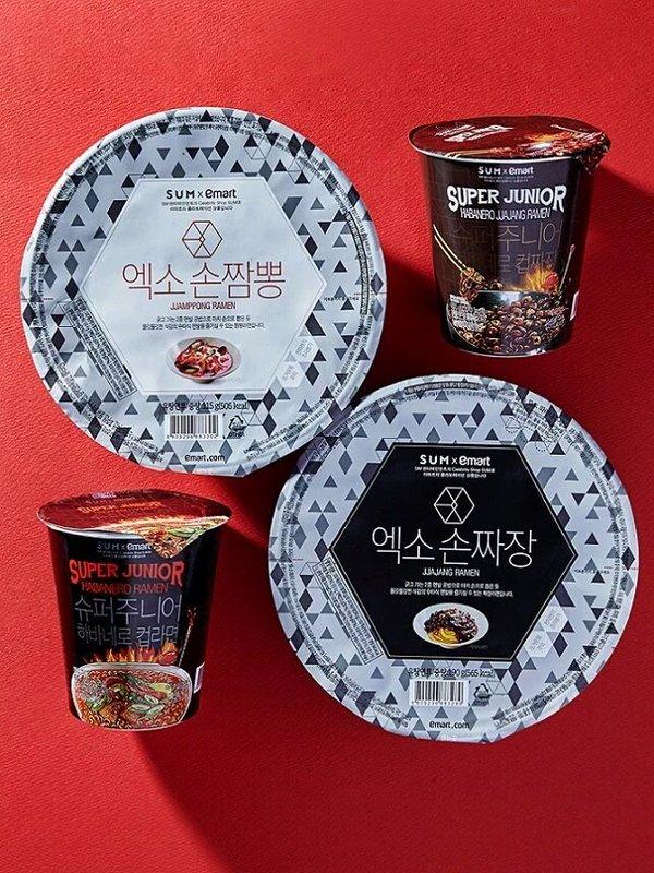 suju and exo ramen