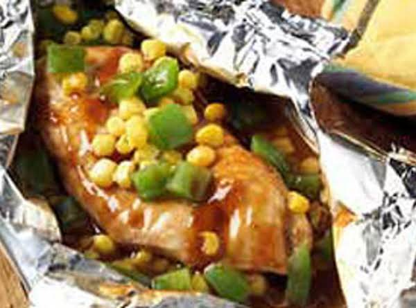 Easy Bbq Chicken Packets