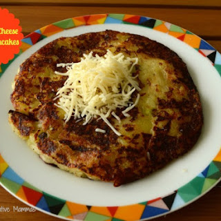 Leek and Cheese Potato Pancakes.