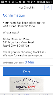 Black Hills Urgent Care- screenshot thumbnail