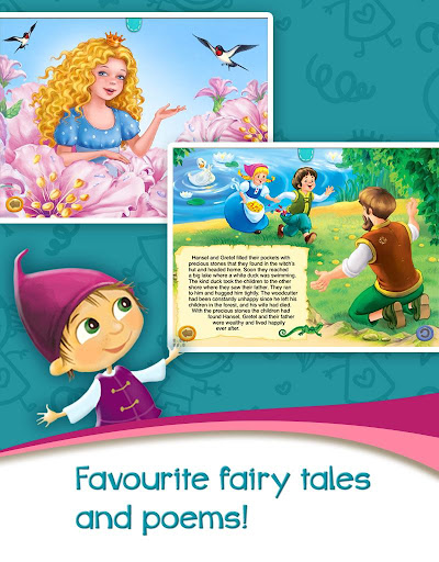 Azbooks - kid's fairy tales, songs, poems & games screenshot 12