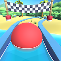 Dig Sand Ball Color - Escape Ball Game Run Hole 3D icon