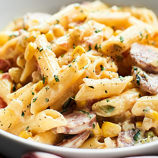 Spicy Chicken Sausage Pasta