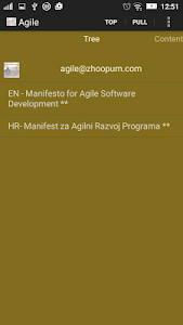 Agile Manifesto screenshot 0