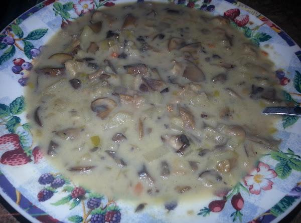 White Eagle Mushroom & Barley Soup Recipe
