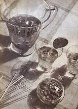 Photo: Napoje, po kolacji...