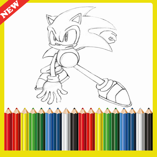 Coloring  Sonic Game