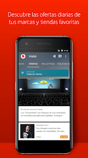 Vodafone Wallet Screenshot