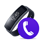 Gear Fit Phone Icon