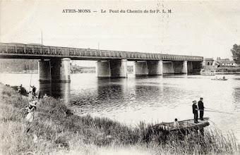 Photo: Athis-Mons — Le Pont du Chemin de fer P.L.M.