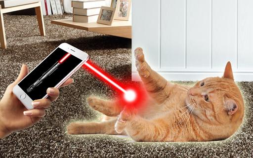 Laser for cat