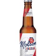 Molson Canadian, 12 oz Bottled Beer (5.0% ABV)