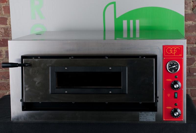 Pizza oven huren -  inox 4 pizza's 400V- 3,6KW