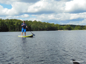 Photo: Paddle on at Adams Reservoir at Woodford State Park by Brooke McKeen